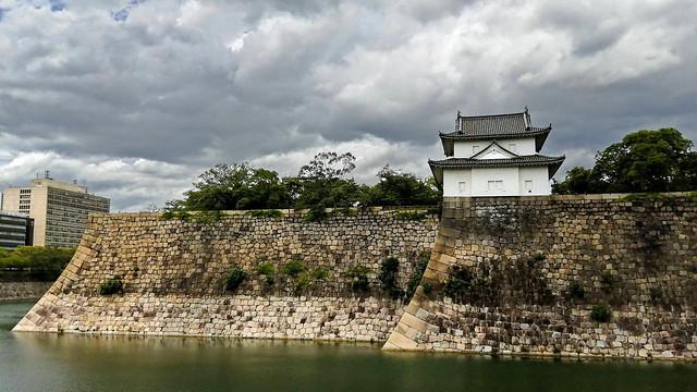 Chateau d'Osaka Japon
