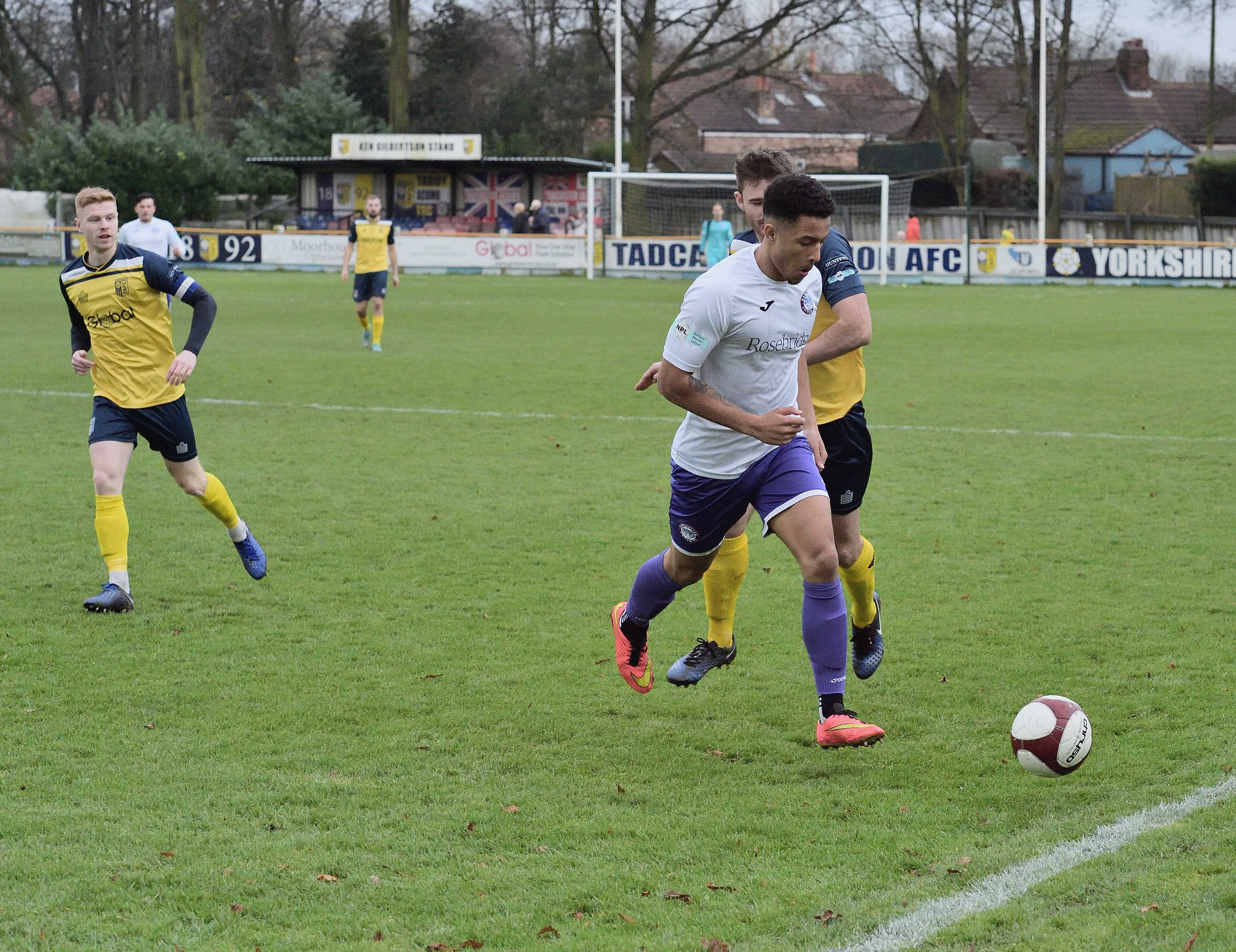 Tadcaster 2 Rams 2 - Match Action