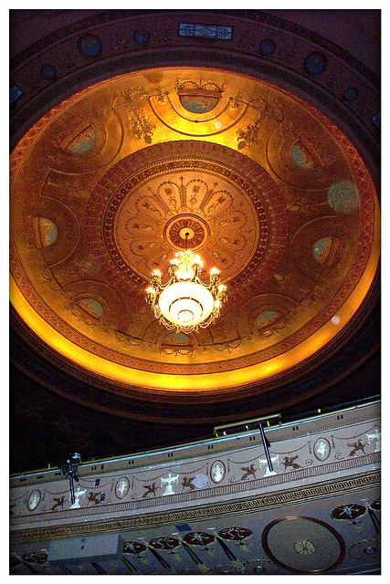Cleveland Ohio - Playhouse Square - State Theatre - Interior Auditorium - AKA - KeyBank State Theatre