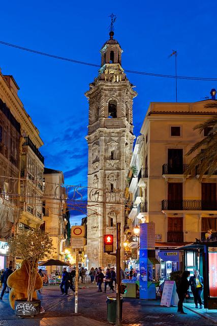 Bell Tower - Church of Santa Catalina (Plaza de la Reina - Valencia) Panasonic S1 & 24-105mm f4 (DxO Edited)