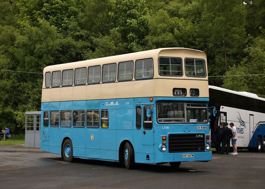 Preserved China Motor Bus ESF 647W/CH 9399 (LV36)   2019 SVBM Open May Day Internal Shuttles   Scottish Vintage Bus Museum, Fife