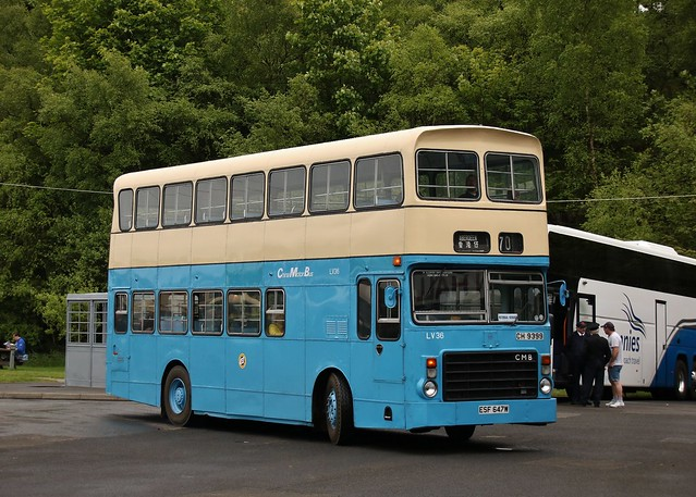 Preserved China Motor Bus ESF 647W/CH 9399 (LV36) | 2019 SVBM Open May Day Internal Shuttles | Scottish Vintage Bus Museum, Fife