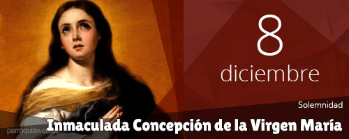 Inmaculada Concepción de la Virgen María