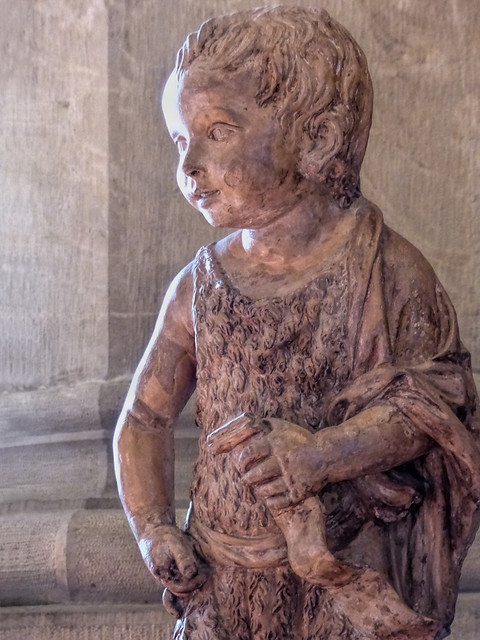 Fri, 09/11/2015 - 12:16 - John the Baptist as a Child (c1450) by Michelozzo di Bartolomeo - Bargello Florence 11/09/2015
