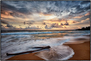 Another Kauai Sunrise; Donkey Beach, Kealia.