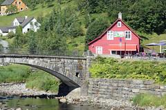 Bridge over the Steinsdalselva