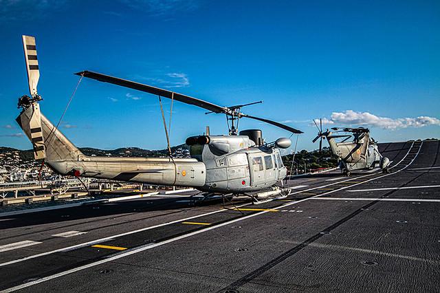 Cubierta de vuelo (LHD)    L 61 Juan Carlos I