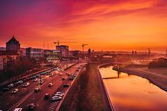 Pink sunrise | Kaunas aerial #340/365