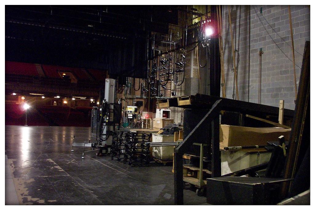 Cleveland Ohio  - Ohio Theatre - Playhouse  Square Center  -  Stage  Tour