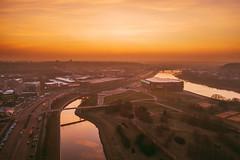 Nemunas island | Kaunas aerial