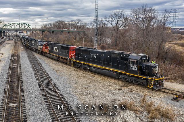 IC 1032 | EMD SD70 | CN Harrison Yard