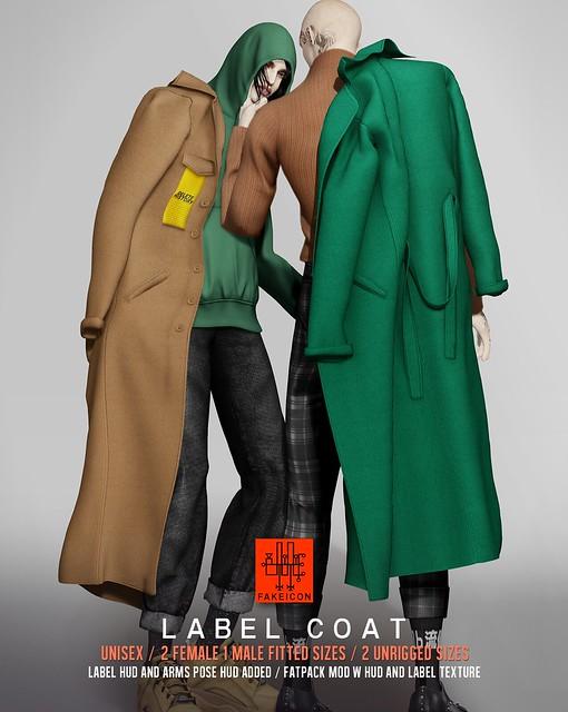 label coat @ TMD