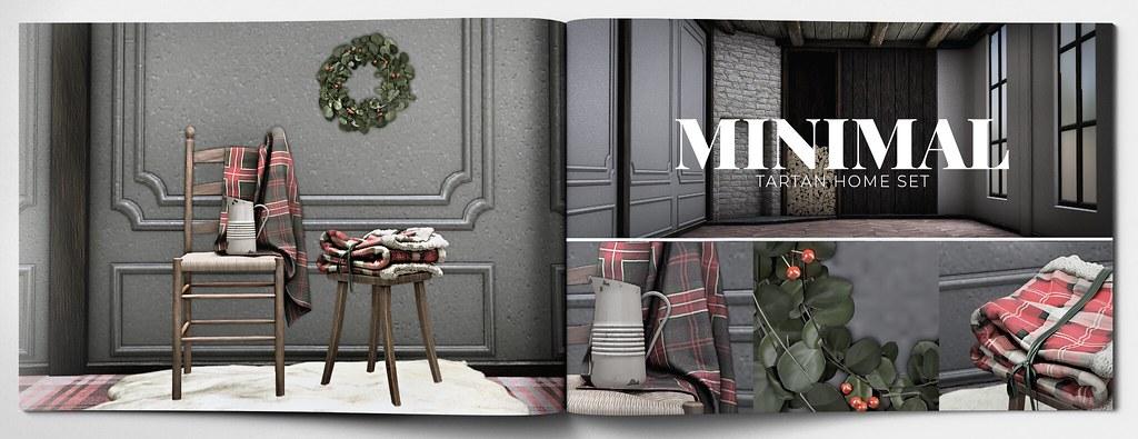 MINIMAL – Tartan Home Set