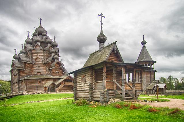 Church of the Protection of Most Holy Theotokos on Neva. Церковь во имя Покрова Пресвятой Богородицы. Невский лесопарк.