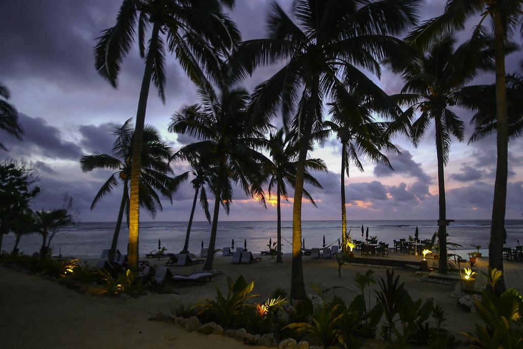 Tropical Paradise sunset