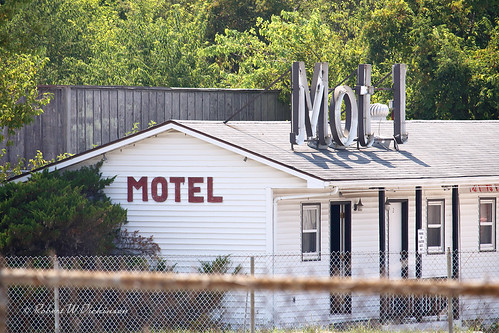 Stanton Motel on Route 66 in Stanton, Missouri