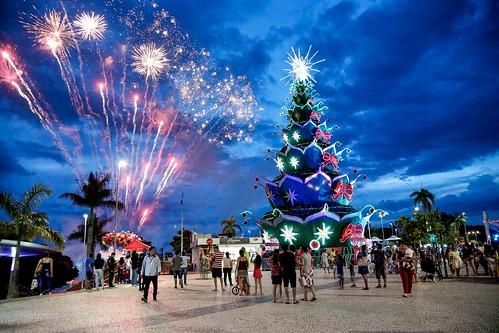 07.12.2019 Inauguração da árvore de Natal e programação do Natal do Abraço, no Complexo Turístico Ponta Negra