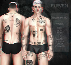 ELEVEN - Temere Tattoo @ The Men Jail Event