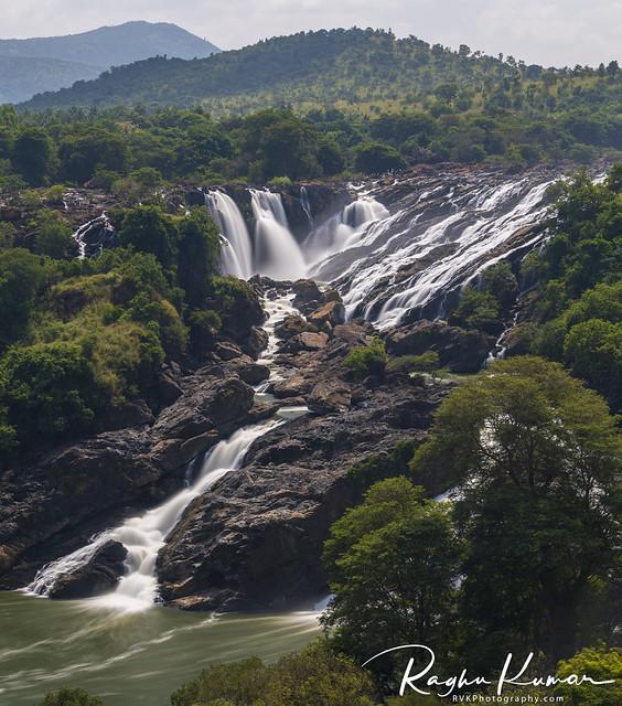 Barachukki Falls, Karnataka, India