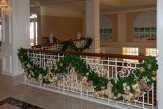 Christmas Season at Grand Floridian Resort.
