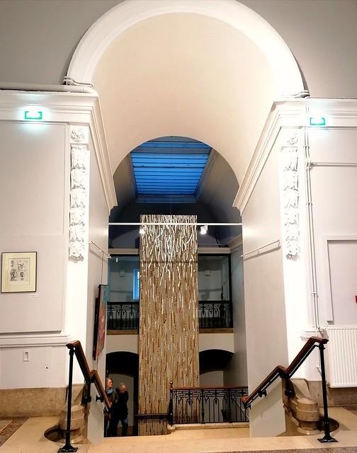 Palais de Bondy, vers la salle d'exposition. Lyon France