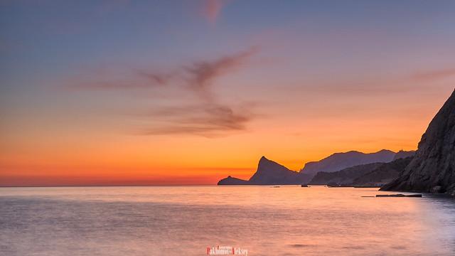 Cape Kapchik at dawn