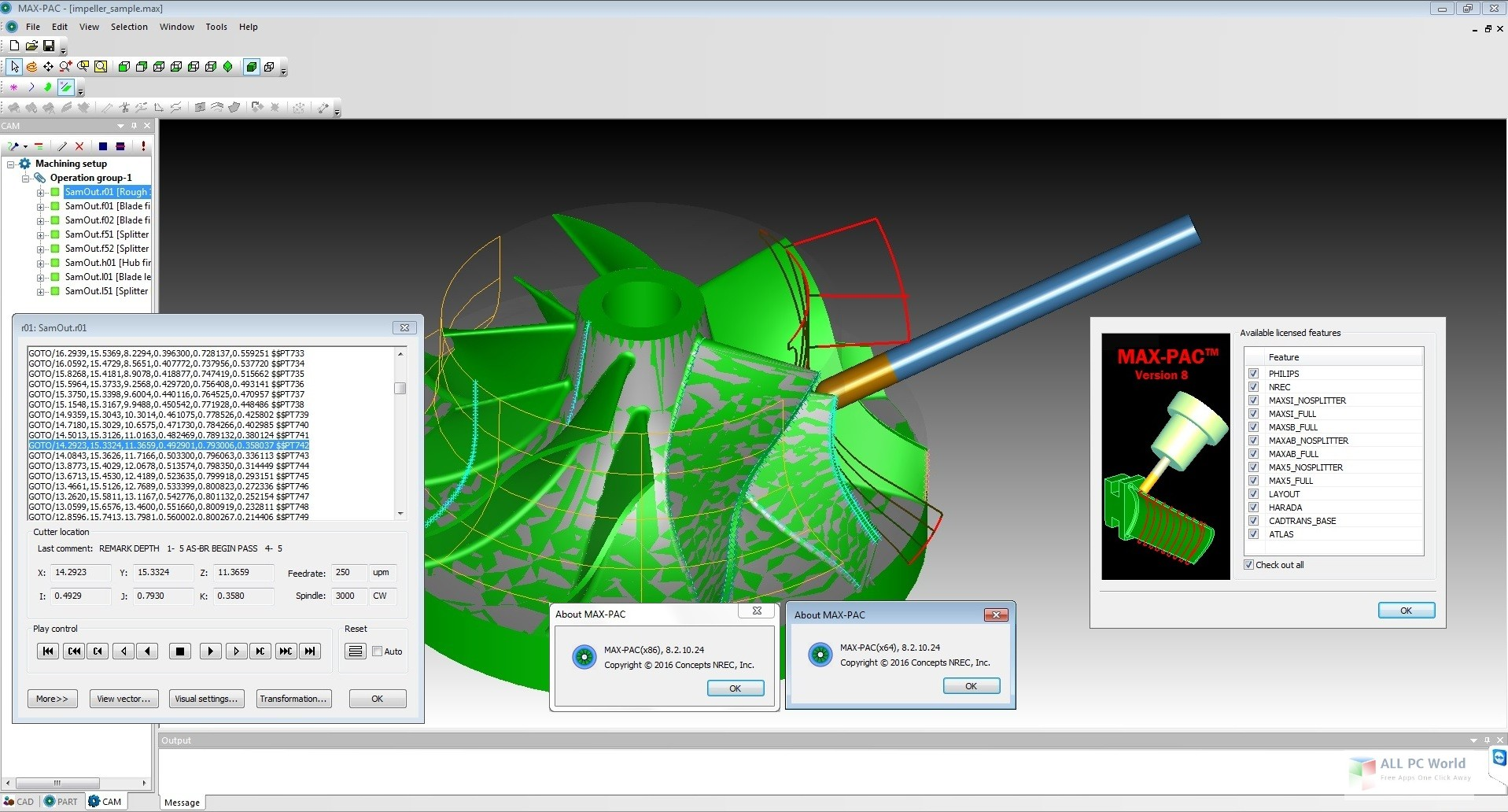 Programming with Concepts NREC MAX_PAC 8.7.8.0 Win64 full