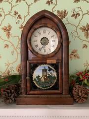 Clock at Cherry Hill Farmhouse