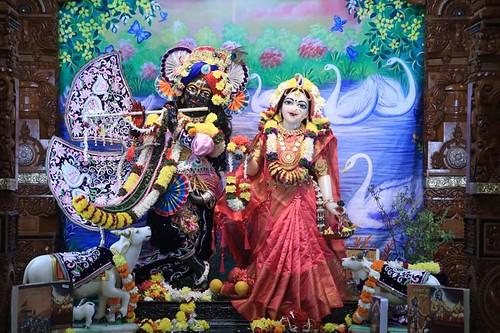 ISKCON Nigdi Deity Darshan 08 Dec 2019