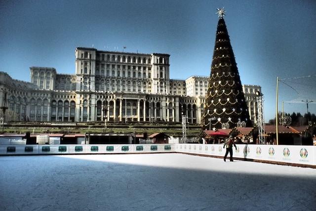 Palace of Parliament, xmas 2019 (Palatul Parliamentului)