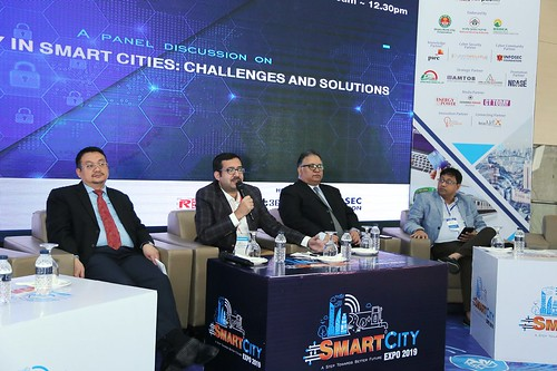 "Panel discussion on ""Data Security in Smart Cities: Challenges and Solutions"""