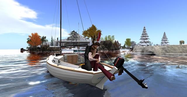 winter boat trip