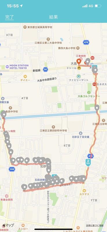 131 20191208チョートクブラぱち塾砂町銀座立ち食いスナップ今日の行程