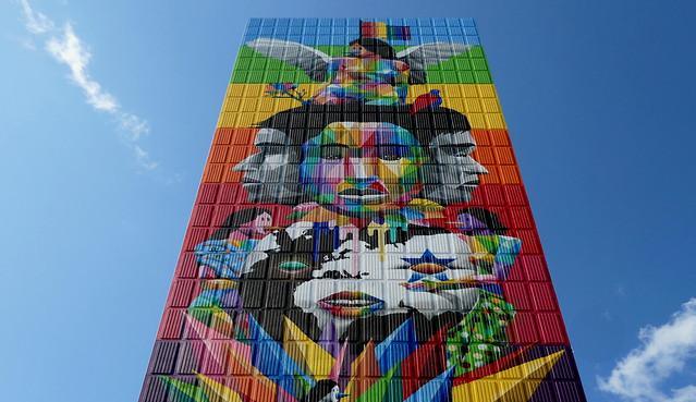 Equilibrium mural. Toronto.