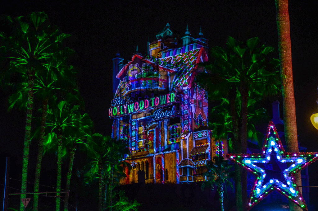 Tower of Terror Christmas Muppet Gingerbread DHS