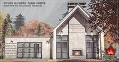 Trompe Loeil - Chloe Modern Farmhouse & Snow Add-On for Collabor88 December
