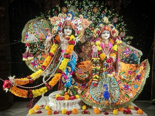 ISKCON Rajkot Deity Darshan 08 Dec 2019