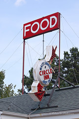 Circle Inn Malt Shop Sign on Route 66 in Bourbon, Missouri II