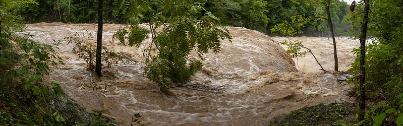 Waterloo Falls, Spring Creek, Overton County, Tennessee 7