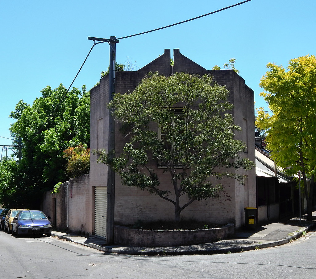 Building, Darlington, Sydney, NSW.