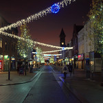 Festive Fishergate in Preston