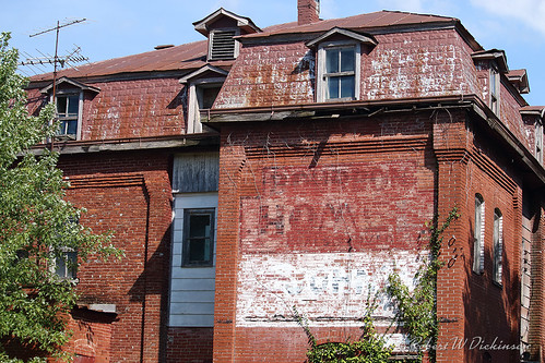 Abandoned Bourbon Hotel on Route 66 in Bourbon, Missouri I