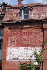 Abandoned Bourbon Hotel on Route 66 in Bourbon, Missouri IV
