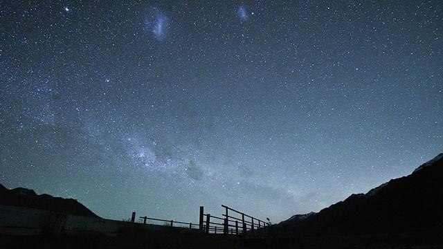 Night Sky @ Mt Cook Village