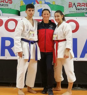 Corrado Radogna e Gaia Leone con Marcela Remiasova