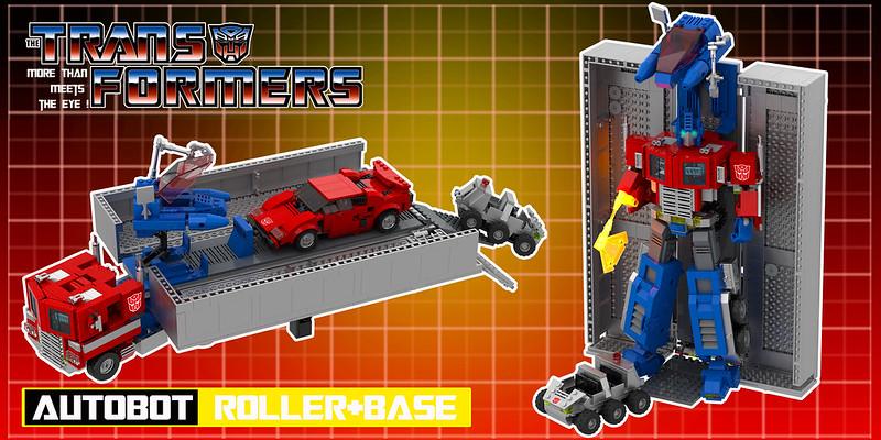 Autobot Optimus Prime Roller+Base