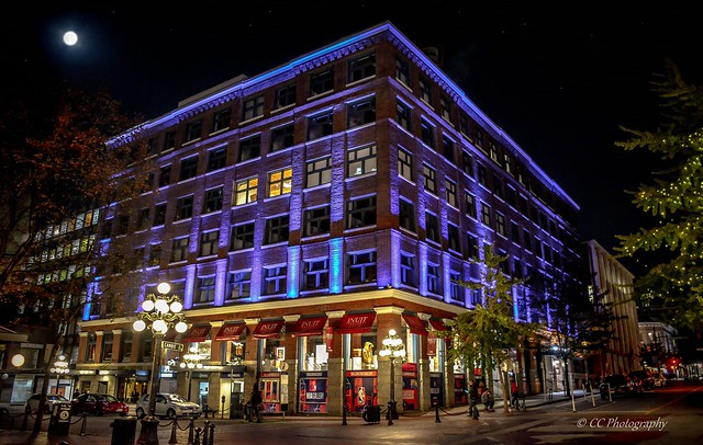 Historical Gastown by Light