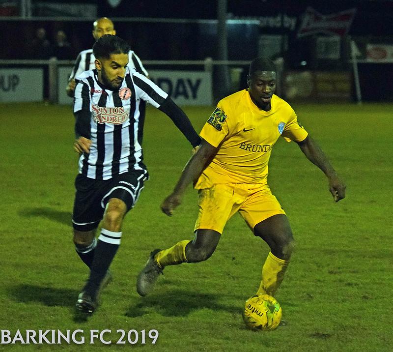 Hanwell Town FC v Barking FC - Saturday December 7th 2019