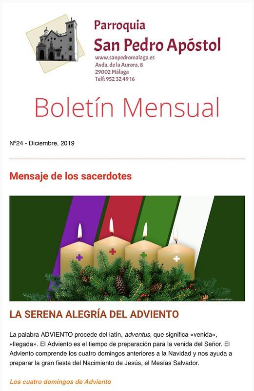 Boletín San Pedro Málaga