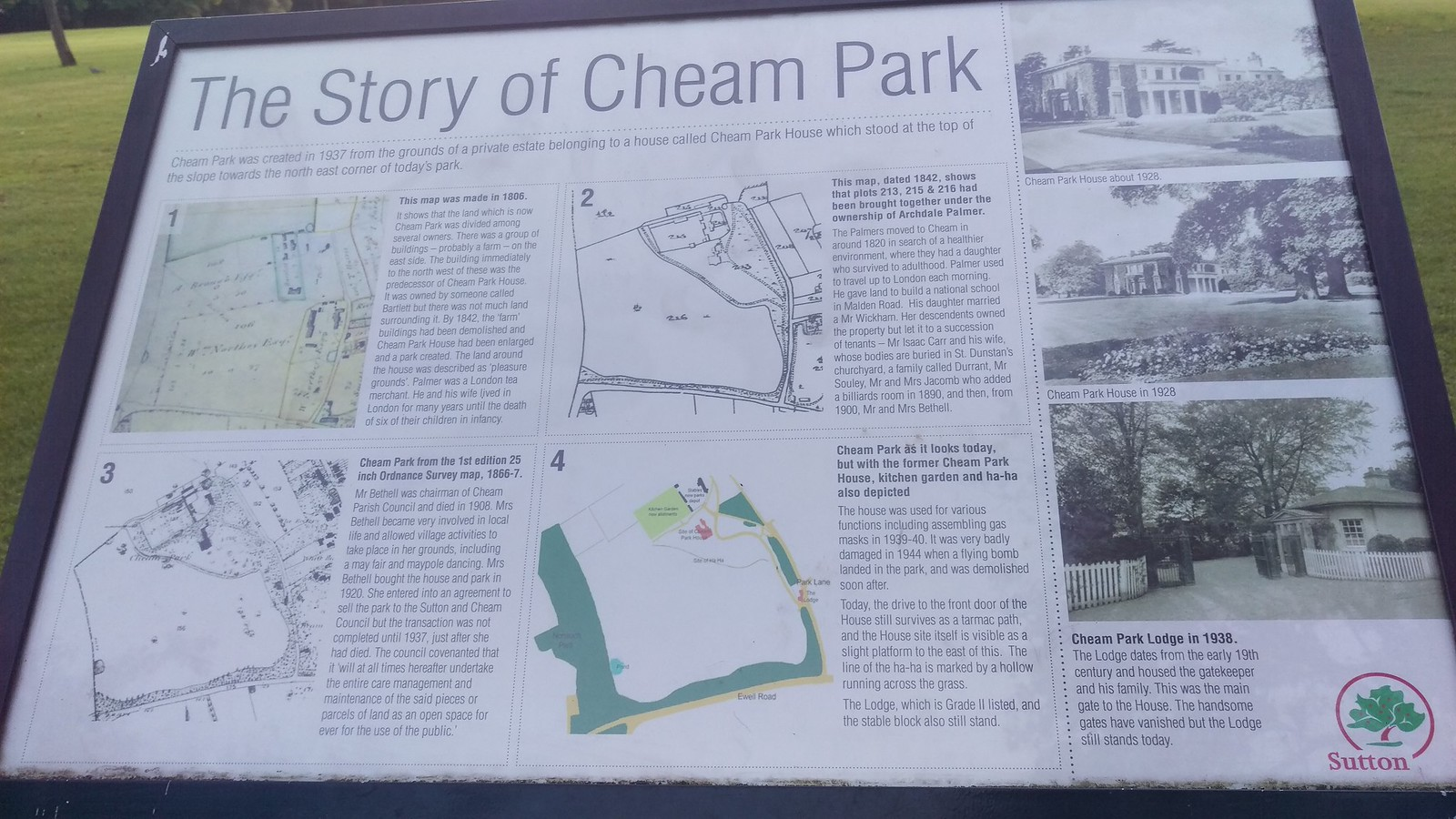 Story of Cheam Park